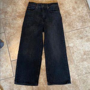 Levis cropped wide jeans - size 25